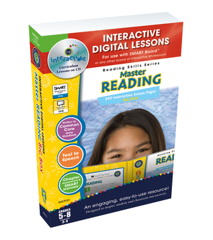 Master Reading BIG BOX - NOTEBOOK Gr. 5-8