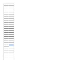 Master Schedule in Excel