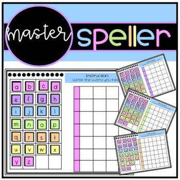 Master Speller Assesment Movable Letters By Andrea Mendez Tpt The act of assessing or an amount (of tax, levy or duty etc) assessed. teachers pay teachers