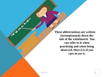 Master Teacher Evaluation