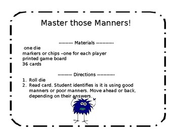 Master Those Manners