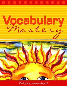 Master Vocabulary With Writing