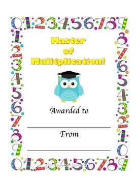 Master of Multiplication