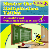 Master the Multiplication Tables - grade 3, common core (D