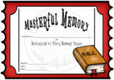 Masterful Memory -- FREE!!
