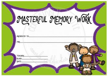 Masterful Memory Work -- FREE!!