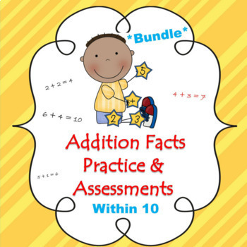 Addition Facts *Bundle* ~ Common Core Aligned