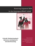 Mastering Argument Skills for Redesigned SAT & PSAT, Critical Reading Part II
