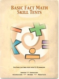 Mastering Basic Facts:  Skill Tests and Certificate of Mastery for 2nd-4th Grade