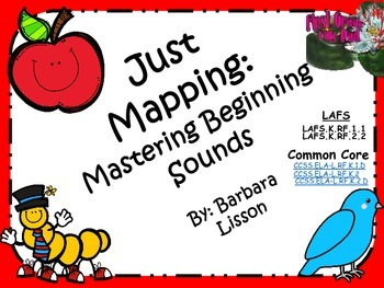 Mastering Beginning Sounds Mapping Pack!