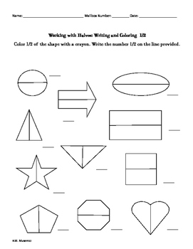 Mastering Fractions: Halves, Thirds, and Quarters