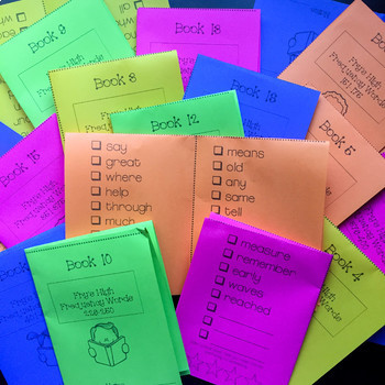 Mastering High Frequency Words System: Fry's First 500 Words
