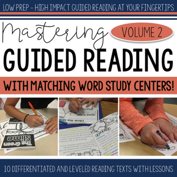 Mastering Guided Reading Volume TWO with Word Study Centers