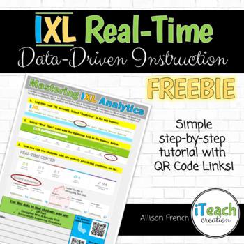 Mastering IXL : Data Driven Instruction Analytics Reports