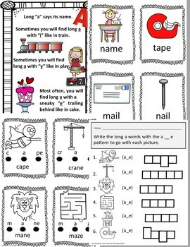 Mastering Long Vowel A with Vowel Digraphs