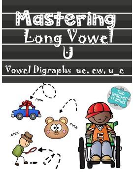 Mastering Long Vowel U with Vowel Digraphs
