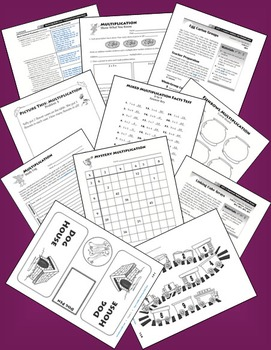 Mastering Multiplication Facts: Lessons, Activities, Games, and Assessments