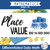 Place Value: Differentiated Daily Math for ONTARIO gr. 3-6