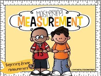 Mastering Measurement: Non-Standard and Standard Linear Measurement