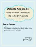 Mastering Multiplication -  Classroom Conversation and Ref