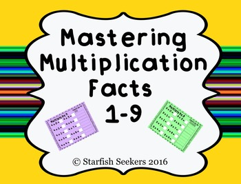 Multiplication Fact Mats for Student Practice