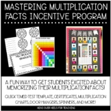 Mastering Multiplication Facts Incentive Program