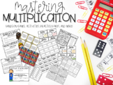 Mastering Multiplication Games, Activities, Practice Pages