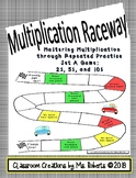 Mastering Multiplication through Repeated Practice: Set A GAME 2s, 5s, &10s