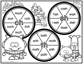 Mastering My CH, SH, TH Digraphs - Game