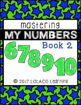 Mastering My Numbers Book 2: Kindergarten