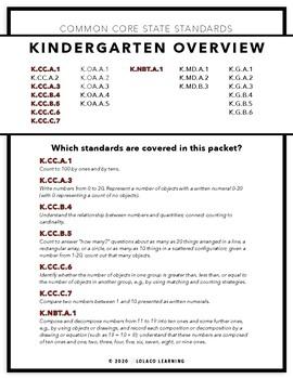Mastering My Numbers: Number 14 Kindergarten Worksheets