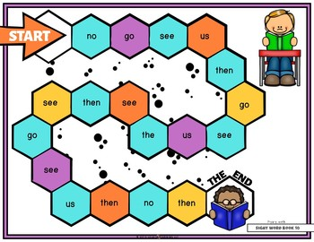 Mastering My Sight Words - Game Set 2