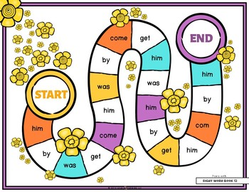 Mastering My Sight Words - Game Set 3