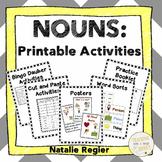 Noun Activities | Noun Worksheets | Noun Printables | Parts of Speech