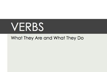 Mastering Nouns and Verbs: What They Are and What They Do (Bundle)