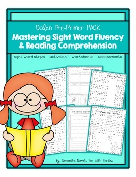 Mastering Sight Word Fluency & Reading Comprehension: Dolch Pre-Primer