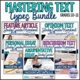 Essay Writing Study Guides and Rubrics Bundle for ESL Learners