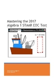 Mastering the Algebra 1 STAAR EOC Test (Second Edition)