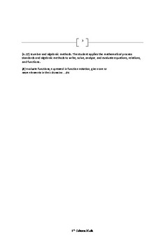Mastering the Algebra 1 STAAR EOC Test (Second Edition)