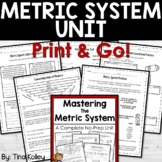 Mastering the Metric System Unit
