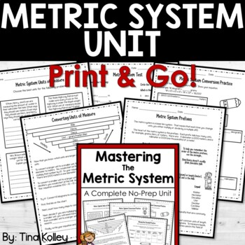 Metric System Unit - Metric Conversions