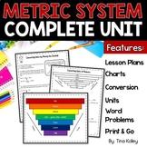 Metric System Unit | Metric Conversions | Printable