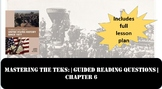 Mastering the TEKS: Urbanization and Westward Expansion Guided Reading Questions