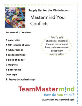 Mastermind Your Conflicts ~ How to engage in productive disagreement and debate