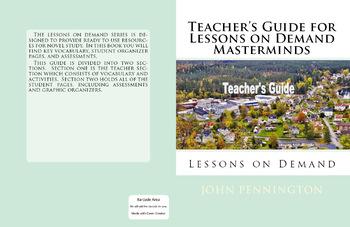 Masterminds by Gordon Korman Teacher's Guide and Novel Unit