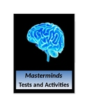 Masterminds by Gordon Korman Tests and Activities
