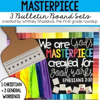 Masterpiece Bulletin Board Set