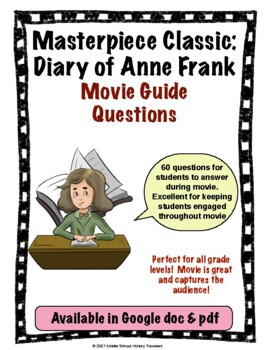 Masterpiece Classic: The Diary of Anne Frank Movie Guide Questions