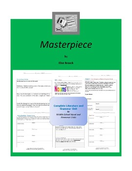 Masterpiece Complete Literature and Grammar Unit