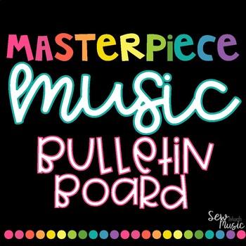 Masterpiece Music Bulletin Board